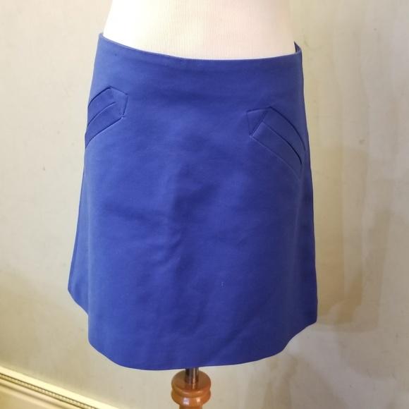 Zara Dresses & Skirts - Zara royal blue mini skirt (B-66)